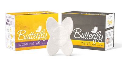 Butterfly anal leakage pads