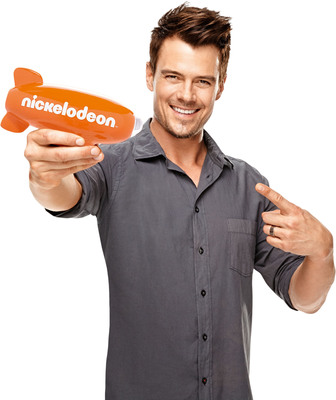 Pictured: Josh Duhamel, host of Nickelodeon's Kids Choice Awards, 2013.  (PRNewsFoto/Nickelodeon, Jim Wright/Nickelodeon. (c) 2013)