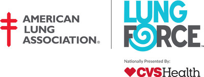 The American Lung Association's LUNG FORCE is nationally presented by CVS Health.
