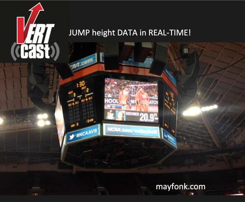 1st VERTcast in Key Arena, Seattle. (PRNewsFoto/Mayfonk Athletic) (PRNewsFoto/MAYFONK ATHLETIC)