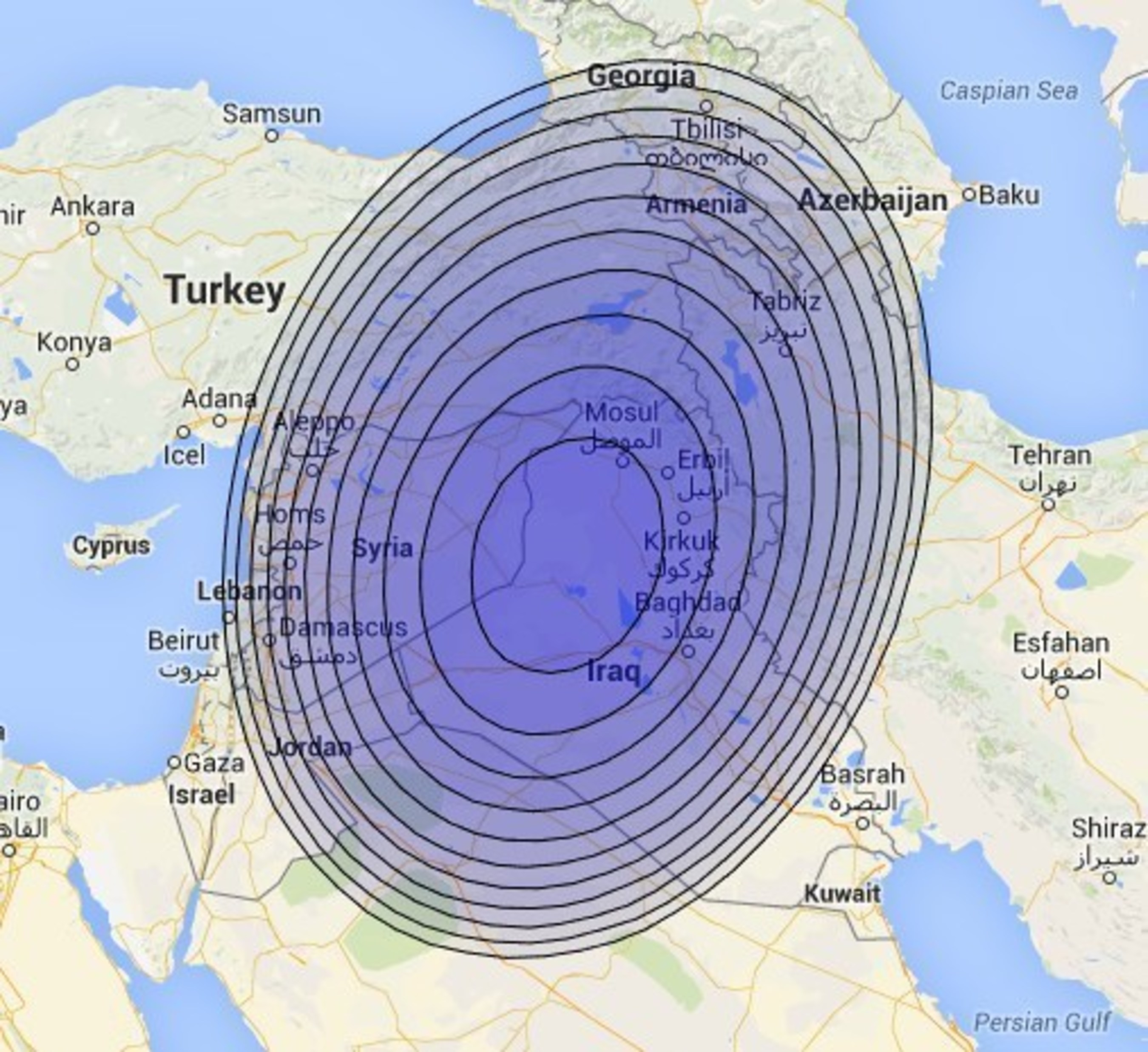 New KA-SAT Satellite Broadband in Iraq and Syria