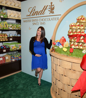 Actress Soleil Moon Frye joined Lindt Chocolate in New York on March 10 to kick-off the Easter season and launch the Lindt GOLD BUNNY Celebrity Auction benefitting Autism Speaks.