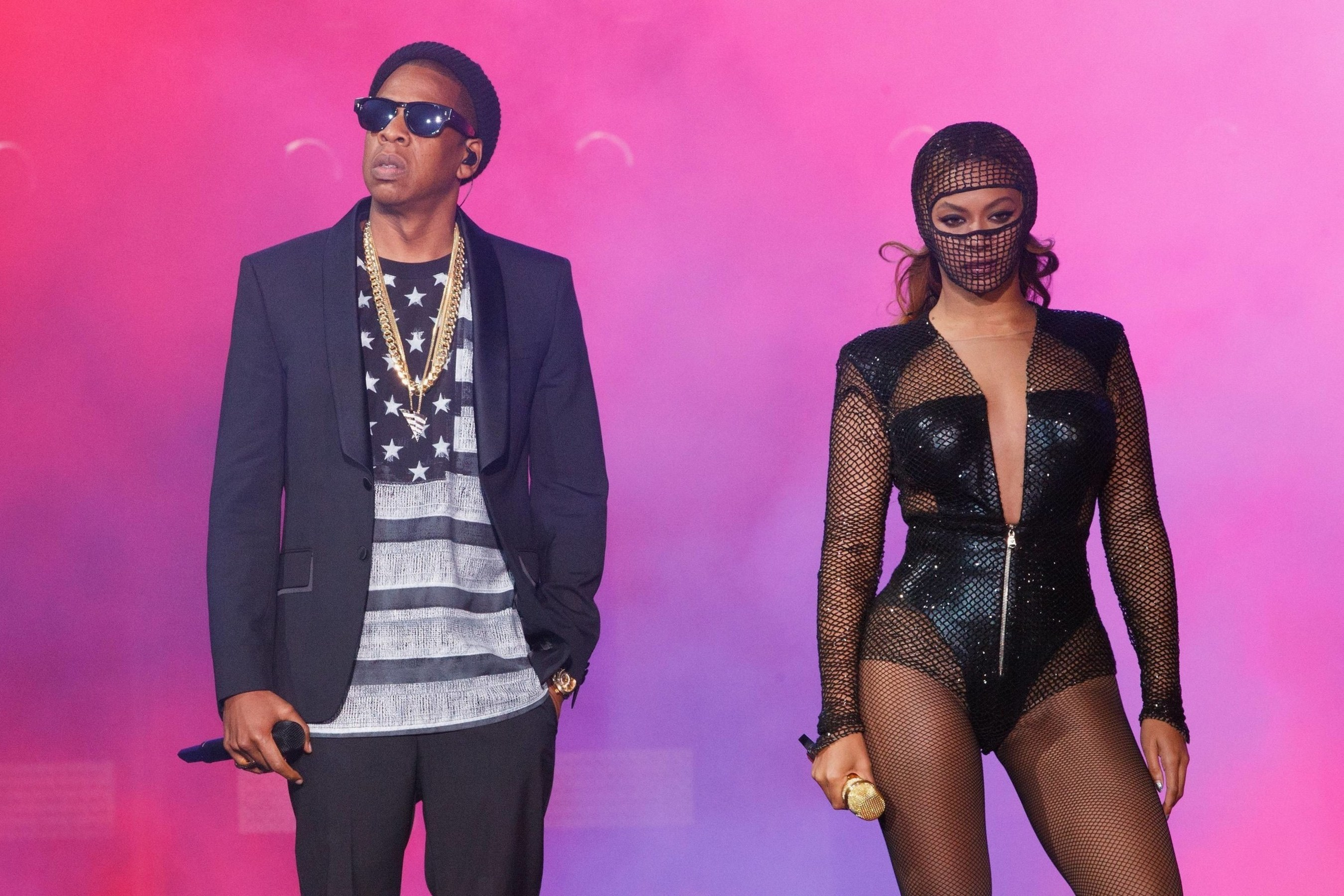 """BEYONCE & JAY Z """"ON THE RUN TOUR"""" EXCLUSIVELY IN PARIS FOR TWO FINAL SHOWS. (PRNewsFoto/Live Nation Entertainment)"""