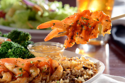 Endless Shrimp returns to Red Lobster offering six flavors to choose from including NEW Sriracha Grilled Shrimp (PRNewsFoto/Red Lobster Seafood Co.)