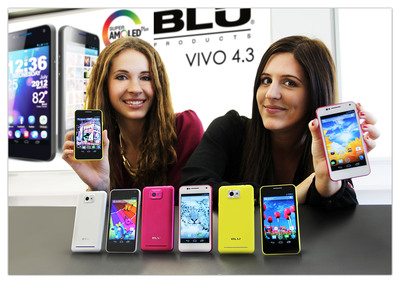 VIVO 4.3.  (PRNewsFoto/BLU Products)