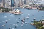 26/1/2014. Australia Day Sydney. Sydney Celebrates Australia Day as Tall Ships and Ferries sail across Sydney Harbour. Credit: Ethan Rohloff / Destination NSW (PRNewsFoto/Destination NSW)