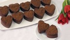 Eli's Mini Belgian Chocolate Cheesecake Hearts