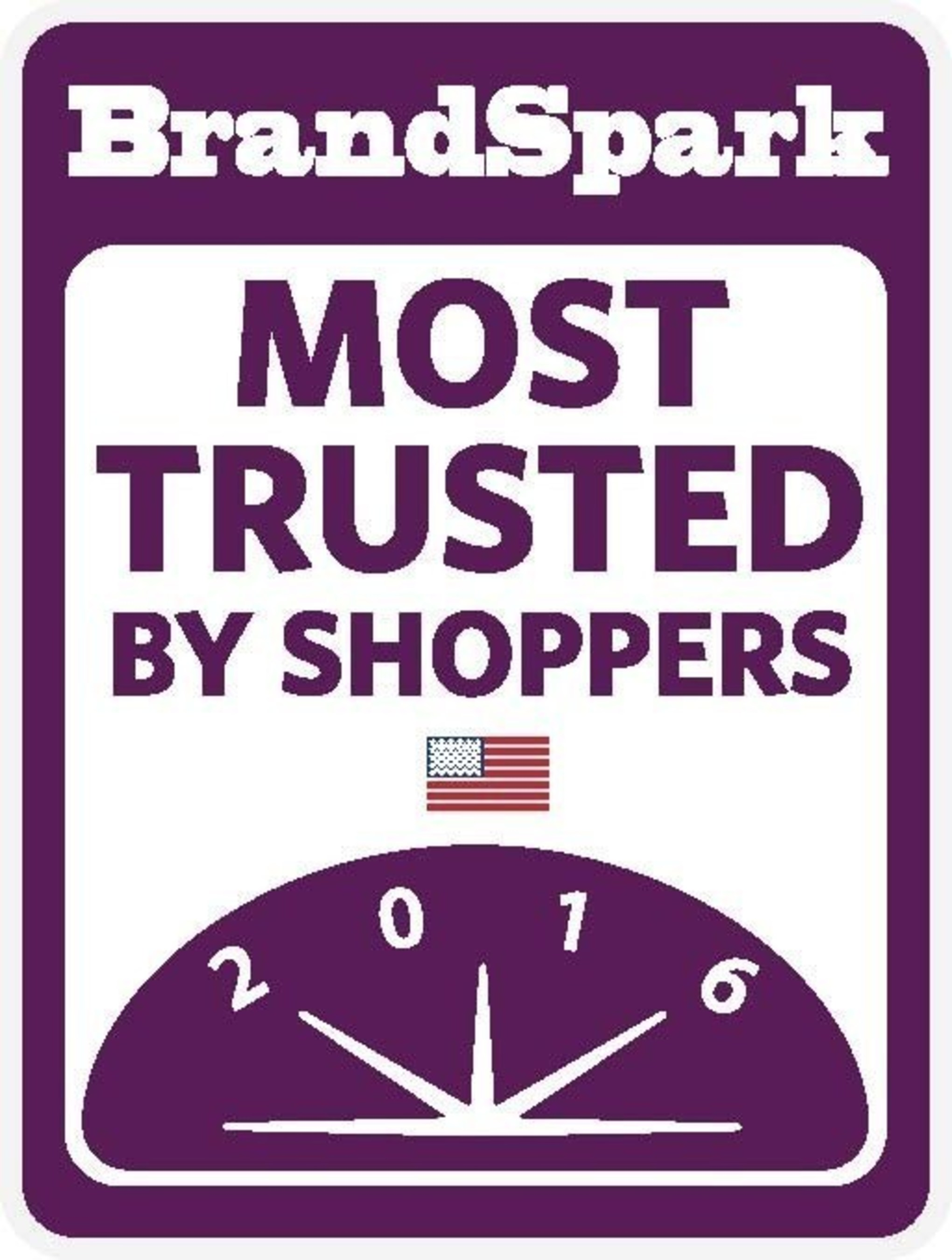 BrandSpark Most Trusted By Shoppers logo
