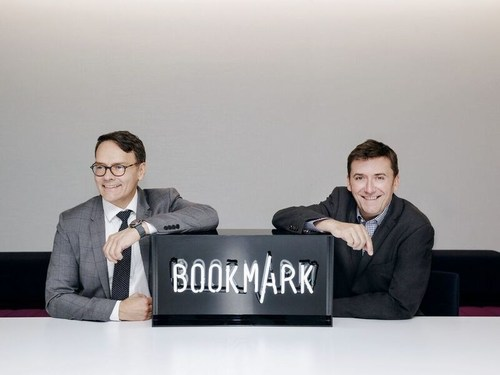 Bookmark Content and Communications Co-CEOs Raymond Girard and Simon Hobbs (PRNewsFoto/Bookmark Content and Comm...)