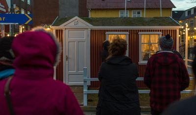Världens minsta scen är pa Iceland Airwaves