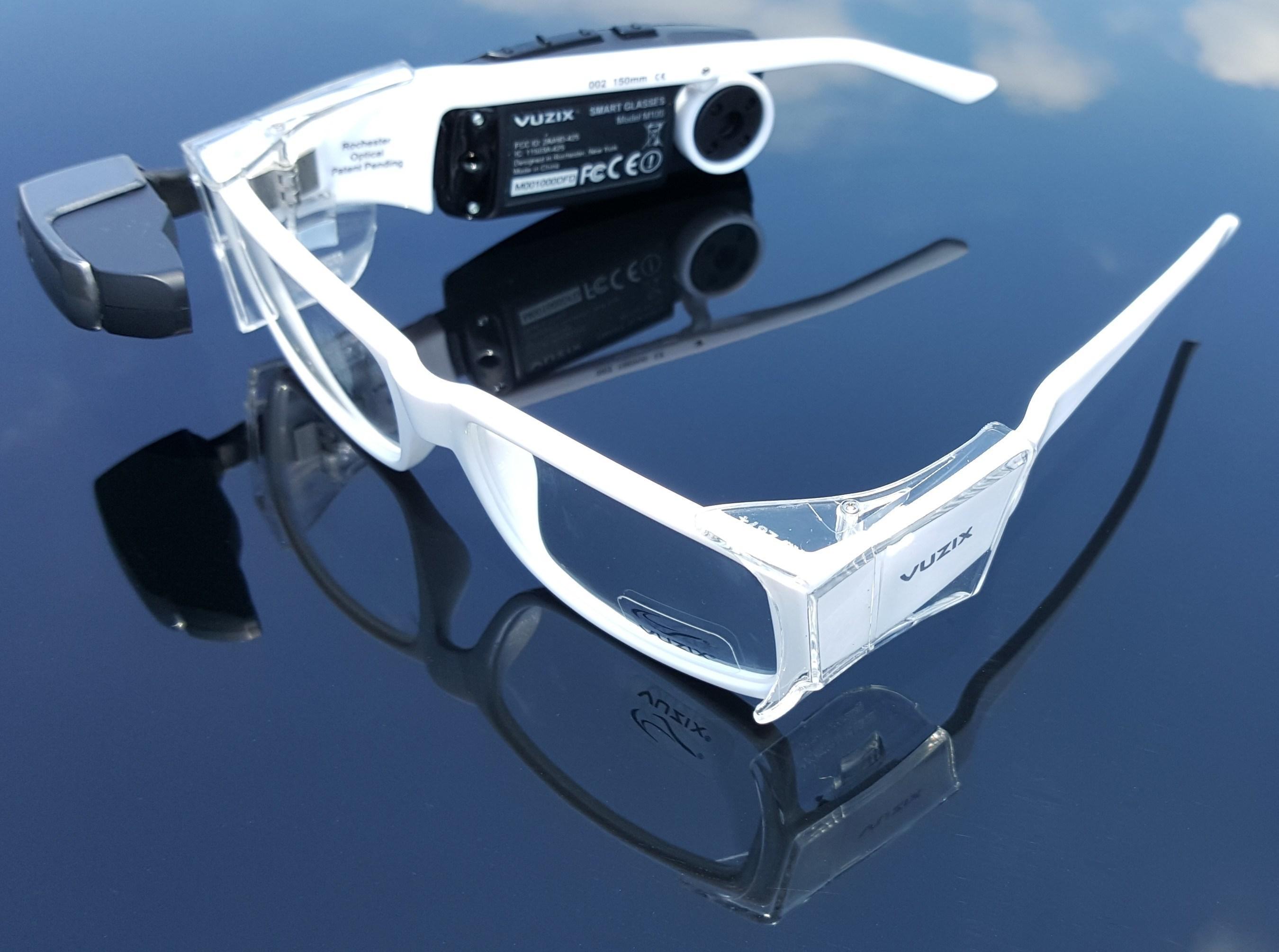94d9ff4e36 Vuzix M100 Smart Glasses Prescription Safety Eyewear Now Available