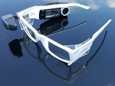 Vuzix M100 Smart Glasses with Prescription Safety Glasses