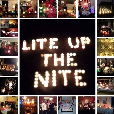 "PartyLite's ""Lite Up the Nite"" fundraiser rallied people to raise money for breast cancer awareness"