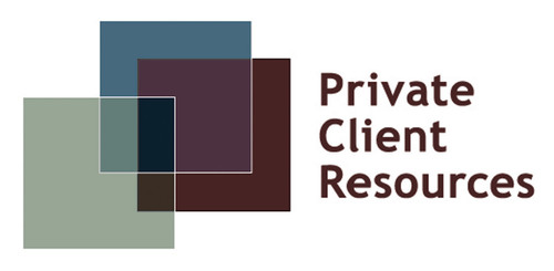 Private Client Resources logo.  (PRNewsFoto/Private Client Resources)
