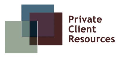 Private Client Resources logo.  (PRNewsFoto/Private Client Resources)