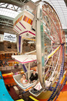 Couples exchange vows with their valentine on Ferris Wheel at Mall of America to celebrate National Ferris Wheel Day during Love Makes the World Go Around Week.  (PRNewsFoto/Mall of America)