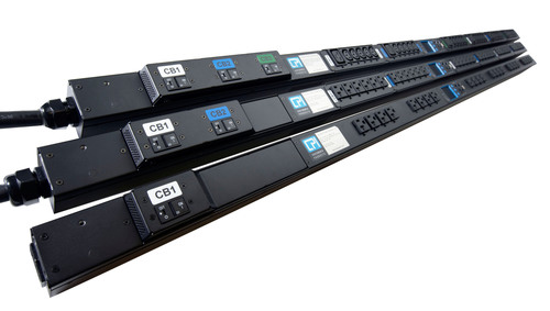 eConnect Power Distribution Units (PDUs) Integrate Intelligent Power with Thermal Innovation.  (PRNewsFoto/Chatsworth Products, Inc.)