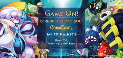 Catch a glimpse into the world of ChemCaper at our booth at Game Developers Conference 2016!