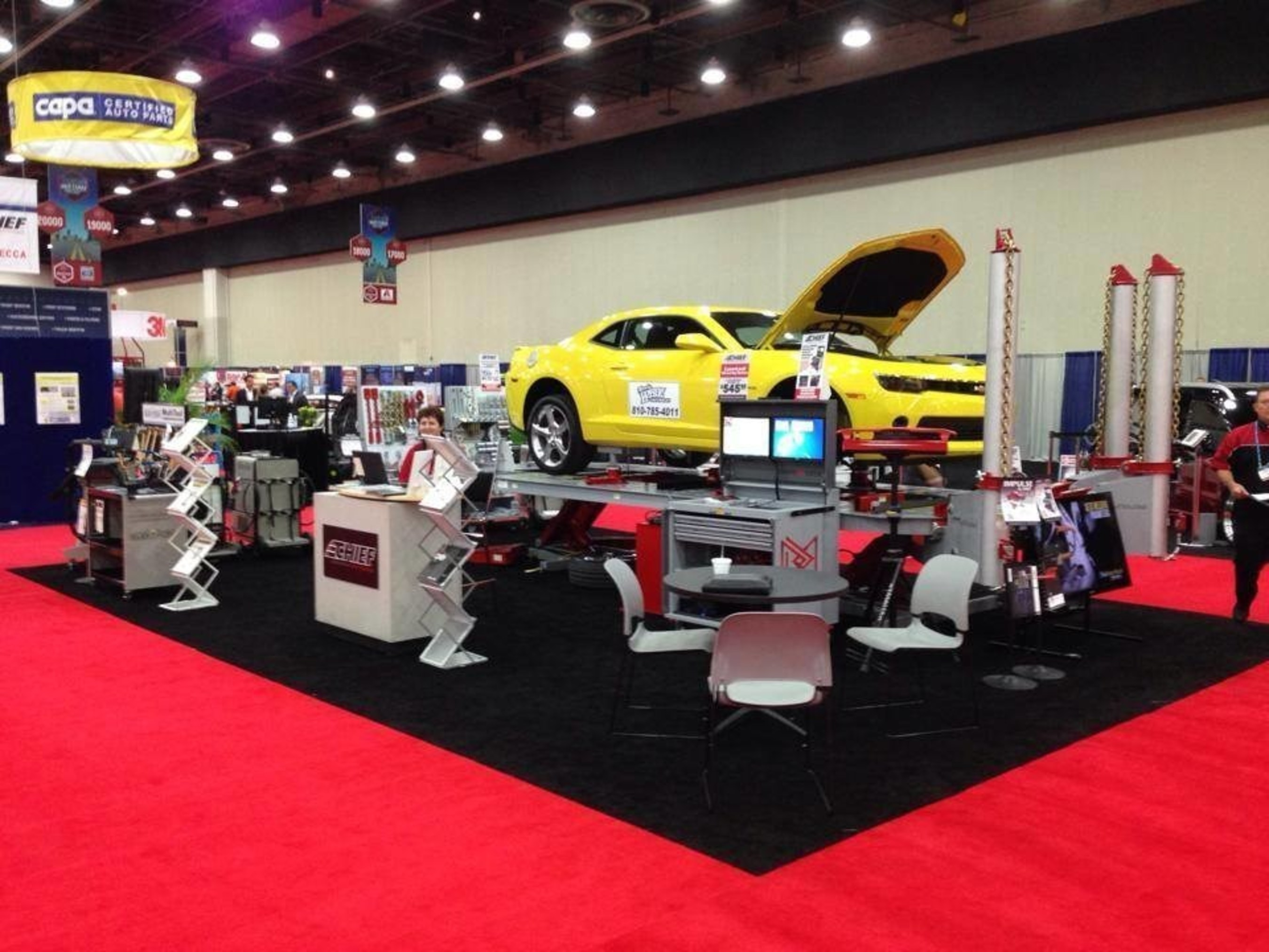 Chief Provides the Know-How and Equipment to Properly Repair Aluminum at NACE | CARS 2015