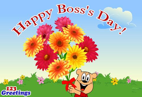 Happy Boss's Day! (PRNewsFoto/123Greetings.com)