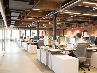 Chobani office in SoHo, New York
