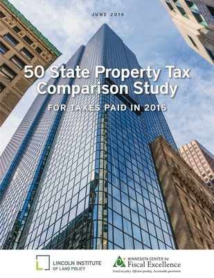 Lincoln Institute of Land Policy Released New Analysis of Property Taxes in 50 States