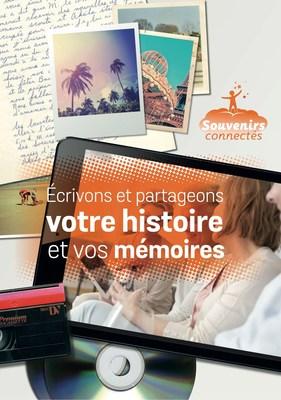 Ecrivons et partageons votre histoire et vos memoires (PRNewsFoto/Reves Connectes) (PRNewsFoto/Reves Connectes)