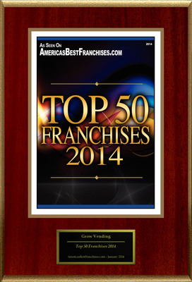 "Grow Healthy Vending Selected For ""Top 50 Franchises 2014"""