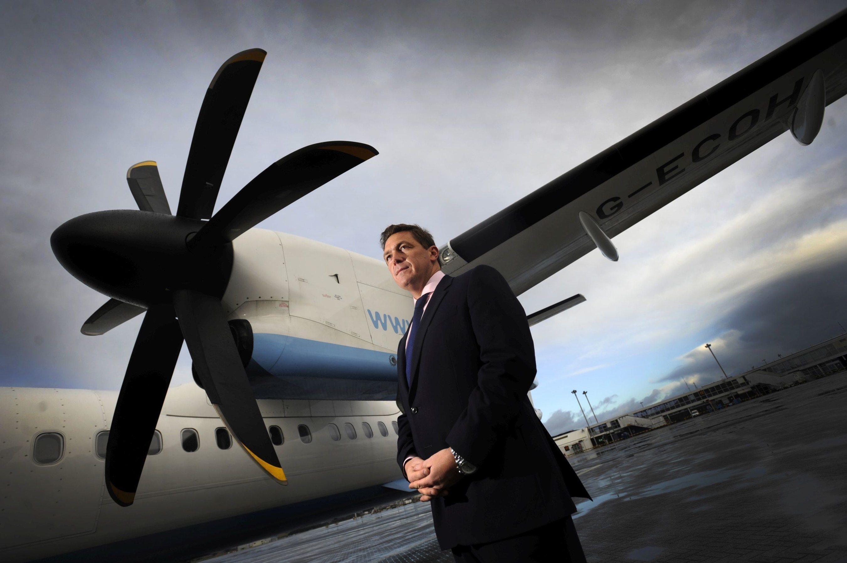 MB Aerospace Chief Executive, Craig Gallagher (PRNewsFoto/MB Aerospace)