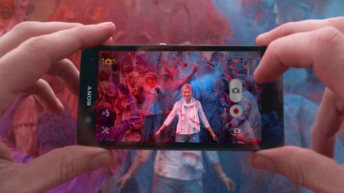 Sony Mobile's latest global marketing campaign to promote the launch of the new Xperia(TM) Z smartphone ...