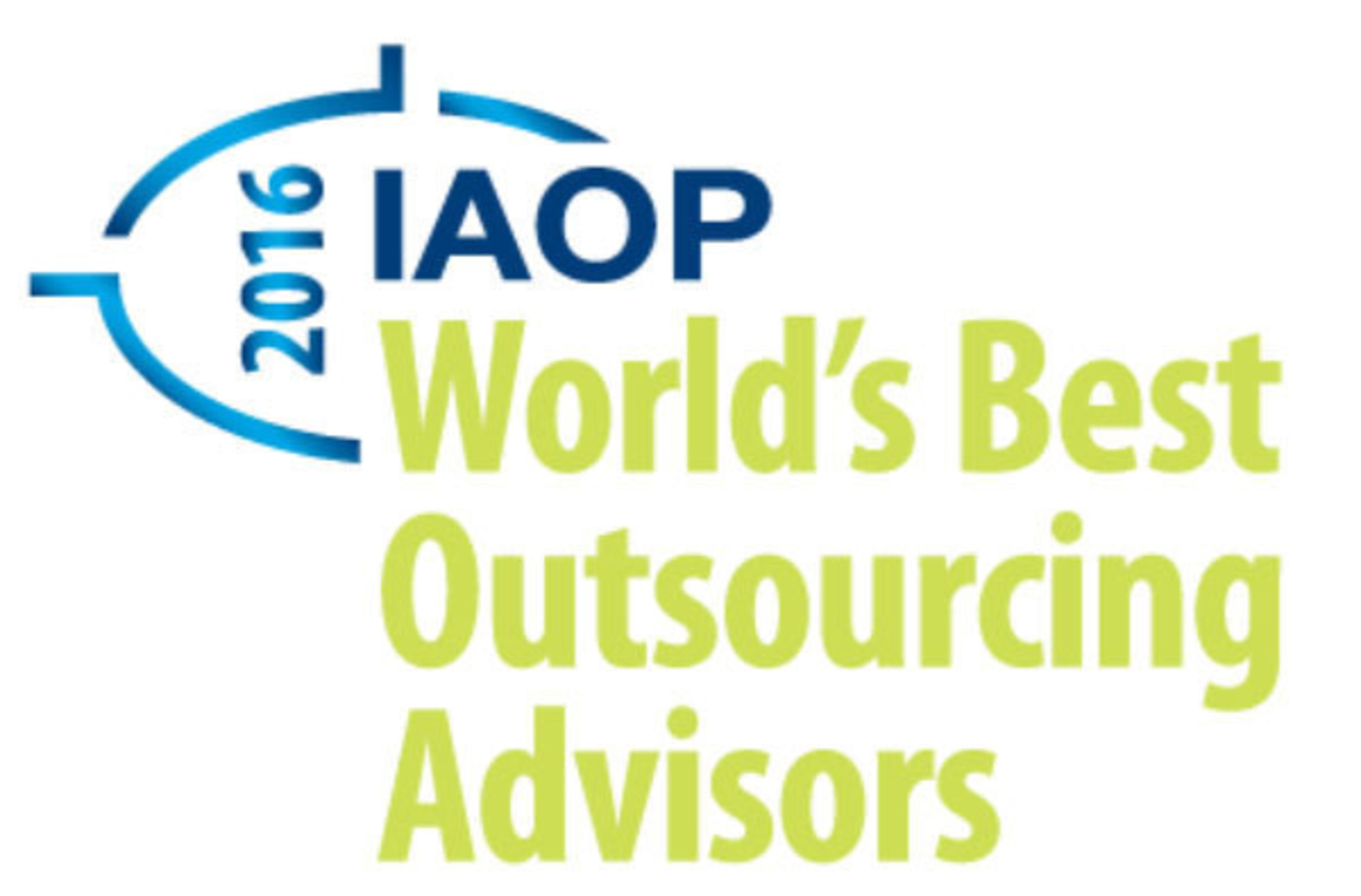 IAOP Word's Best Outsourcing Advisors.