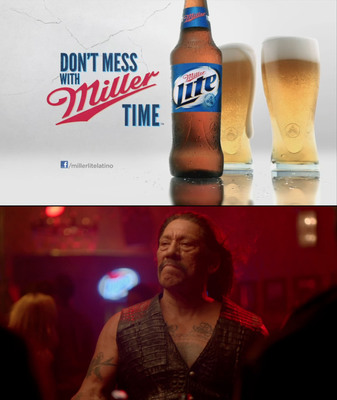 "Danny Trejo reminds consumers, ""Don't Mess with Miller Time.""  (PRNewsFoto/MillerCoors)"