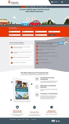 Consumer Website and Product Launch of Trustmark Warranty, www.TrustmarkWarranty.com