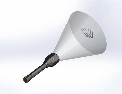 On-Demand Gobo Flashlight.(PRNewsFoto/Wavien, Inc.) (PRNewsFoto/WAVIEN, INC.)