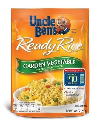 UNCLE BEN'S(R) READY RICE(R) Garden Vegetable with Peas, Carrots & Corn pouch (PRNewsFoto/Mars Food North America)