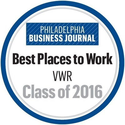 VWR Best Places to Work logo