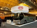 Pictured Above: The BYD C9 unveiled at the 2015 United Motor Coach Association Expo