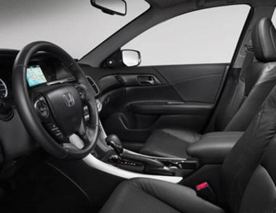Honda Manhattan has a variety of new Honda vehicles to choose from, including the new 2015 Honda Accord Sedan. (PRNewsFoto/Honda Manhattan)