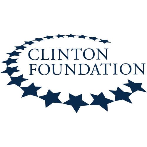 Clinton Foundation Logo. (PRNewsFoto/Univision) (PRNewsFoto/UNIVISION)
