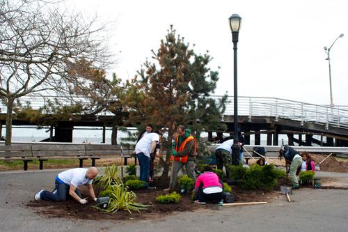 Hilton Garden Inn Rebuilds Staten Island Park Six Months After Hurricane Sandy