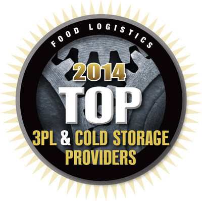 RWI Transportation Selected as 2014 Top 3PL by Food Logistics magazine