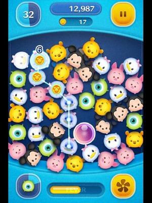 LINE: Disney Tsum Tsum App Gameplay