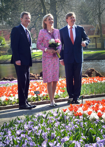 62nd Keukenhof Flower Exhibition Officially Opened Today