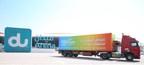 Yasalam truck bringing the stars to du Arena (PRNewsFoto/Flash Entertainment)