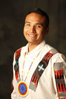 Waylon Ballew (Lummi Reservation/Northern Cheyenne), scholarship recipient with the American Indian College Fund, through the support of AT&T.