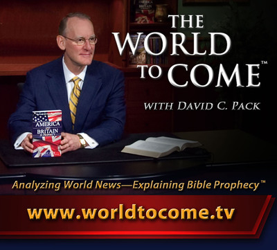 The World to Come with David C. Pack television program expands around the globe (PRNewsFoto/The Restored Church of God).  (PRNewsFoto/The Restored Church of God)