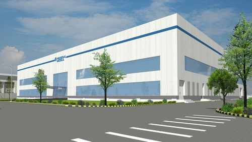 Rendering of Federal-Mogul's new world-class brake friction manufacturing plant being constructed in ...