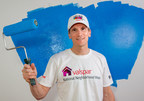 Let's Roll! Valspar employee Kevin Olson will be joining hundreds of other Valspar employees to volunteer at a local Habitat for Humanity organization during Valspar's National Neighborhood Week, May 9 - 14, 2016. Valspar donates paint for every Habitat home built, renovated or repaired in the United States. Since 2002, Valspar has donated 2.5 million gallons of paint to help low-income families, seniors and veterans.