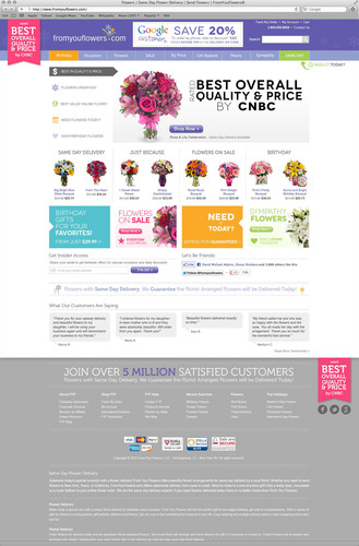 From You Flowers Successfully Launches Site Redesign.  (PRNewsFoto/From You Flowers)