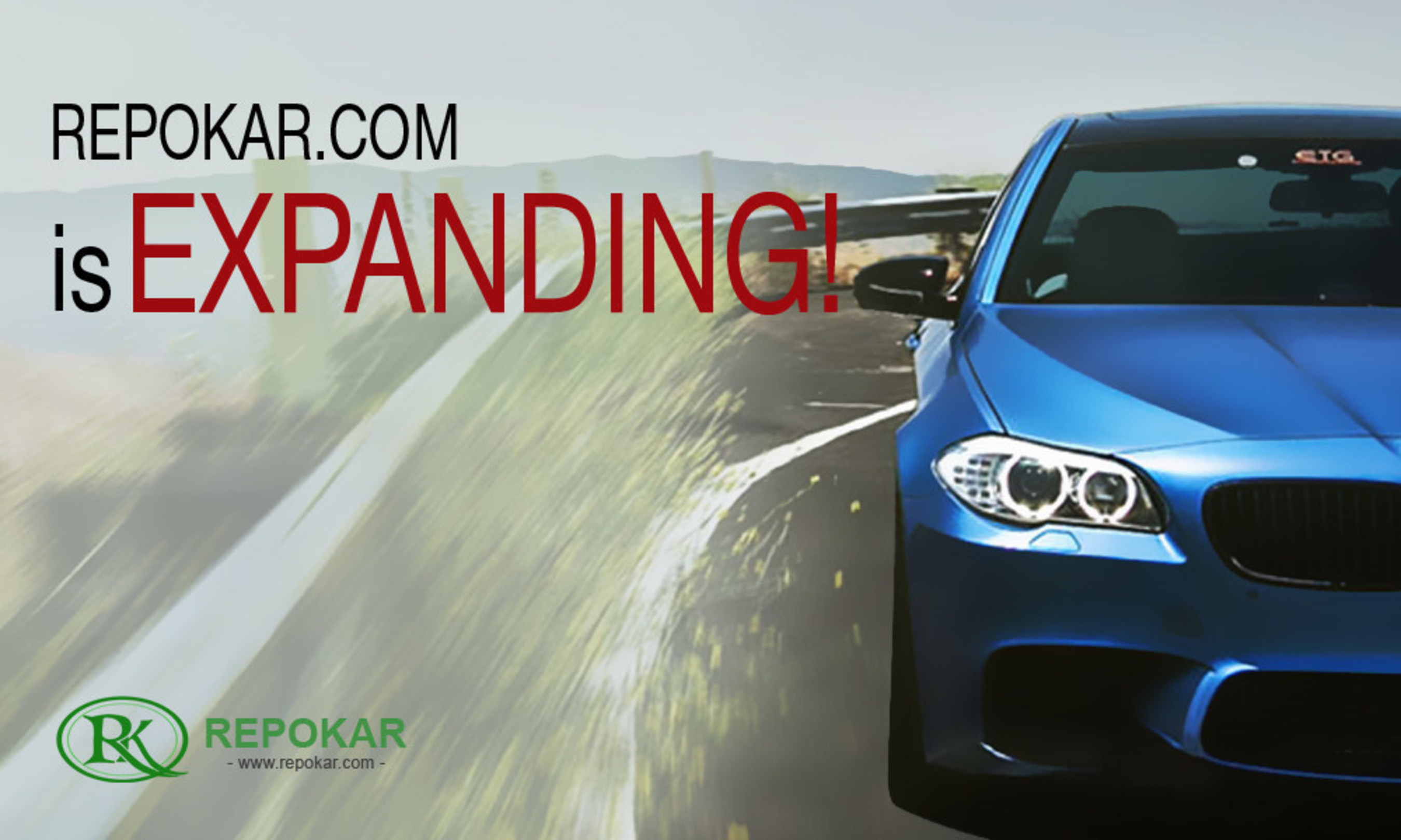 REPOKAR.COM IS EXPANDING! ANNOUNCES BUY OUT OF PRIVATE AUCTION COMPANIES